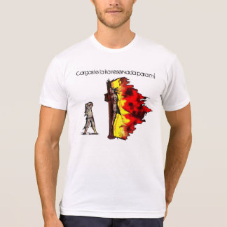 La Ira para hombre Camiseta