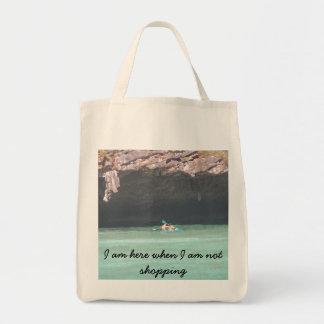 la isla 1 canoeing del maya, soy aquí cuando no bolsa de mano