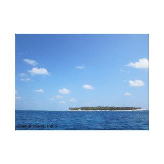 La isla lienzo