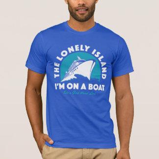 La isla sola - tome una mirada camiseta