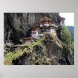la jerarquía Bhután del tigre Impresiones
