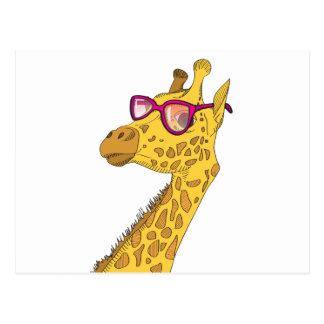 La jirafa del inconformista postal