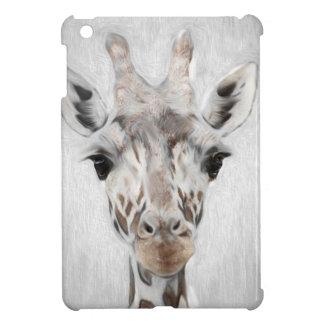 La jirafa majestuosa retrató de muchos productos