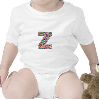 la JOYA yyy del ALFABETO del uuu vvv WWW del zzz Traje De Bebé