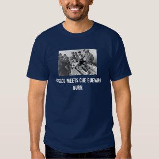 La justicia encuentra a Che Guevara.  Quemadura Camisas