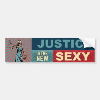 La justicia es la nueva pegatina para el pegatina para coche