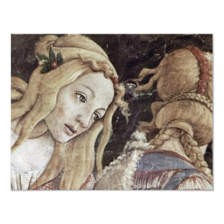 La juventud de Moses, detalle de Botticelli Sandro Invitación 10,8 X 13,9 Cm