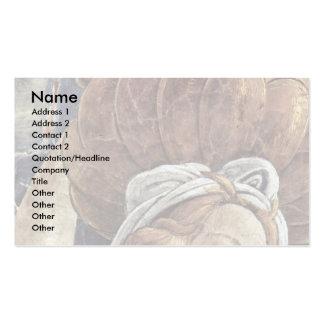 La juventud de Moses, detalle de Botticelli Sandro Tarjetas Personales