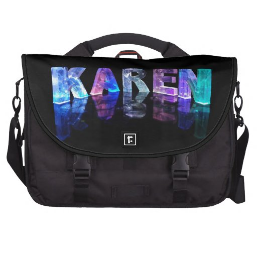 La Karen conocida en 3D se enciende (la fotografía Bolsas Para Portatil