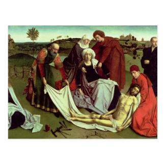 La lamentación sobre el Cristo muerto Postal