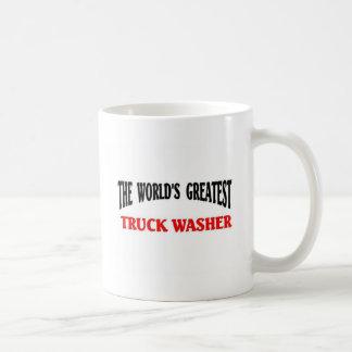 La lavadora más grande del camión taza clásica