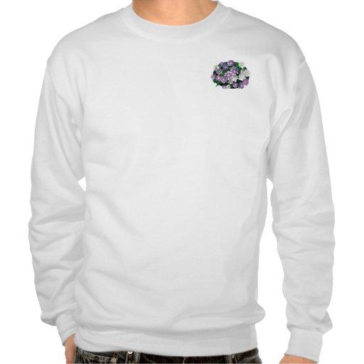 La lavanda y el blanco alimenta los asteres para h pulovers sudaderas