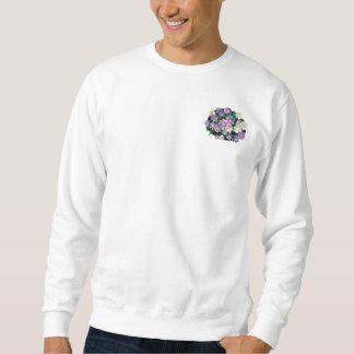 La lavanda y el blanco alimenta los asteres para suéter