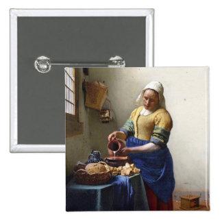 La lechera, c.1658-60 (aceite en lona) pin