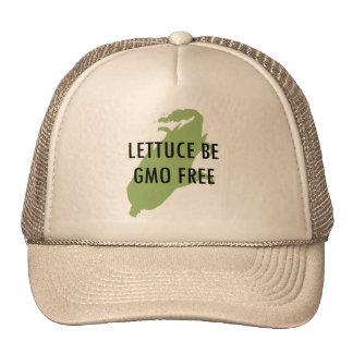 La lechuga nos dejó ser gorra libre de GMO