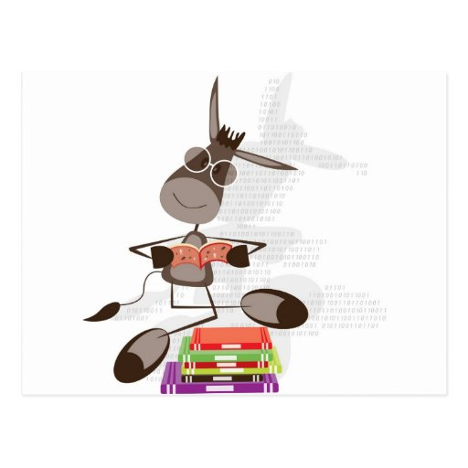 La lectura intelectual del burro postal