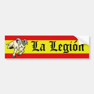 La Legión Pegatina Para Coche