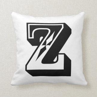 """La letra """"Z"""" ABC del alfabeto redacta Cojín"""