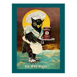 La levadura mágica del búho postal