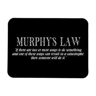 La ley de Murphy Imán De Vinilo