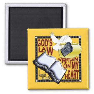 La ley escrita en mi corazón - imán de dios