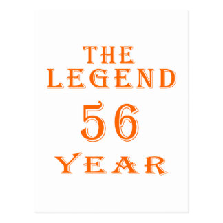 La leyenda 56 años postal