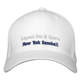 La leyenda lo tiene se divierte gorra de béisbol