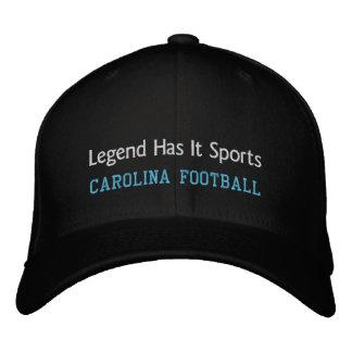 La leyenda lo tiene se divierte gorra de beisbol