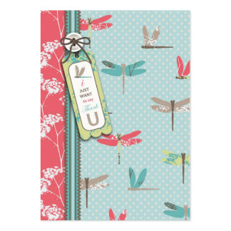 La libélula soña TY Notecard Tarjeta De Visita