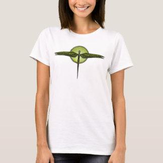 La libélula Stylized de las mujeres Camiseta