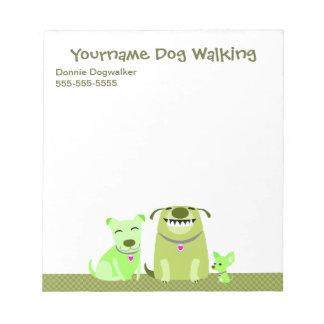 La libreta del caminante del perro