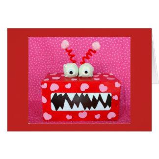 La licencia yo tarjeta del día de San Valentín