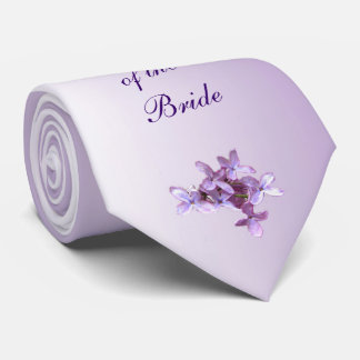 La lila floral florece al abuelo del boda de la corbata