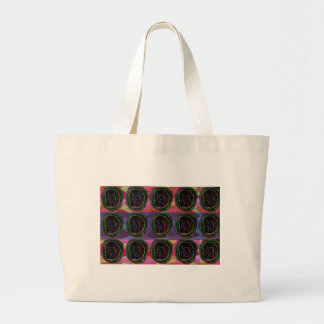 La línea arte circunda alrededor del regalo bolsas de mano
