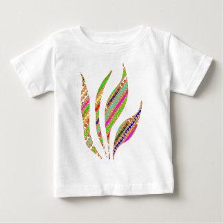 La LLAMA artística del FUEGO guarda fluir Camiseta De Bebé