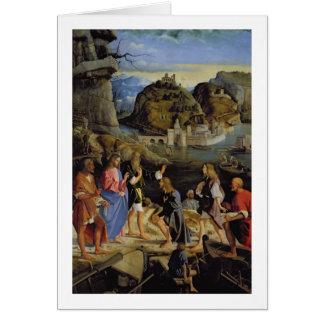 La llamada de los hijos de Zebedee (el panel) Tarjeta De Felicitación