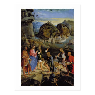 La llamada de los hijos de Zebedee (el panel) Tarjeta Postal