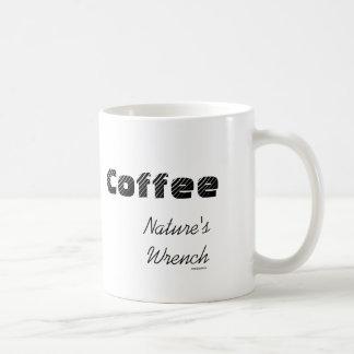 La llave de la naturaleza taza de café