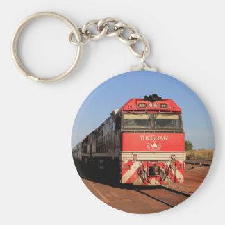 La locomotora del tren de Ghan, Darwin Llavero