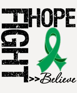 La lucha cree al cáncer de hígado de la esperanza camiseta