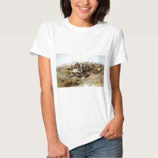 La lucha de Custer Camiseta
