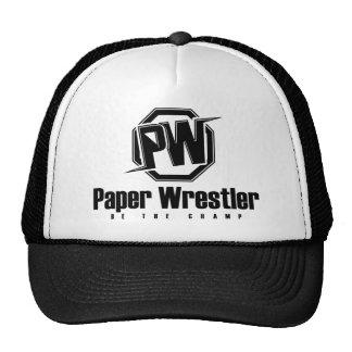 La lucha de papel - sea el campeón gorro de camionero