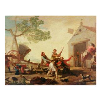 La lucha en el Venta Nueva, 1777 Postal