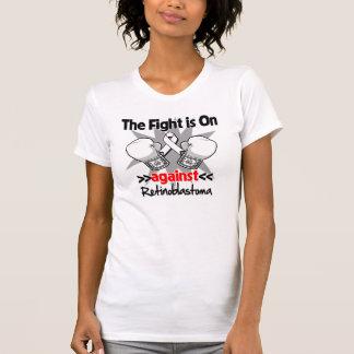 La lucha está encendido contra Retinoblastoma Camiseta