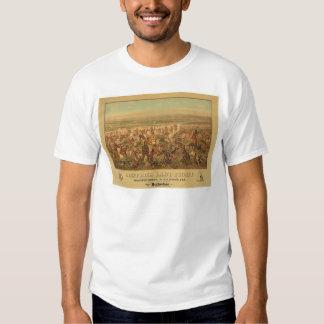 La lucha pasada de Custer (2610A) Camisetas