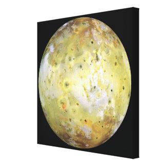 La luna Lo de Júpiter Impresiones En Lienzo Estiradas