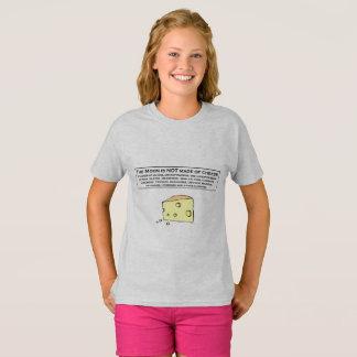 La luna no se hace del queso camiseta
