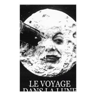 La Lune (un viaje de Le Voyage Dans a la luna) Papelería De Diseño