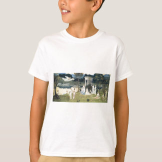 La madera sagrada acariciada por los artes camiseta