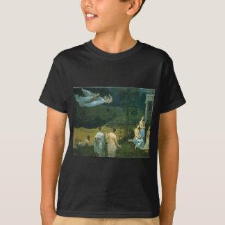 La madera sagrada acariciada por los artes camisetas